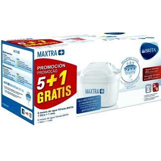Filtros maxtra brita pack renove de 6 unidades para purificar agua
