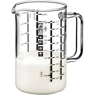 Gerra mesuradora per a cuina amb vidre borosilicat SIMAX