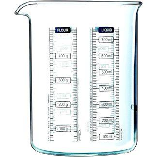 Got mesurador Pyrex Kitchen Lab per a cuina, aliments i receptes