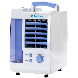 Humidificador evaporativo 60w 15m2 y 1 litro de depósito, ligero y compacto, portátil y de sobremesa