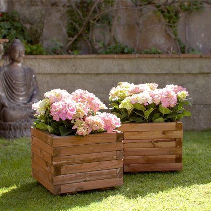Jardinera per a plantes i flors de jardí i terrassa Spiro Nortene