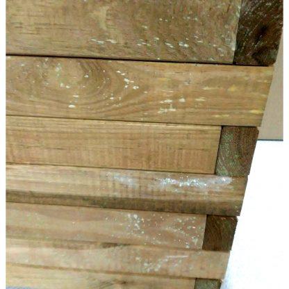 Jardinera de fusta de pi amb autoclau