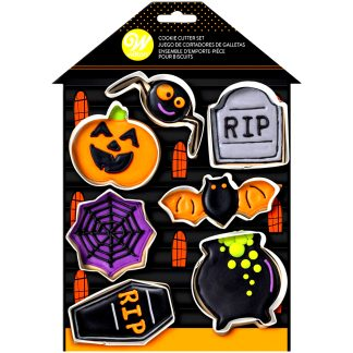 Joc de talladors de halloween wilton casa encantada