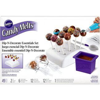 Juego de decoración para cakepops Candy Melts de WILTON para repostería
