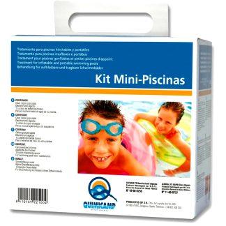 Kit limpiador de cloro + anti-algas para la limpieza del agua de piscinas pequeñas, piscina, mantenimiento