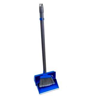Kit recogedor plegable y escoba limpieza