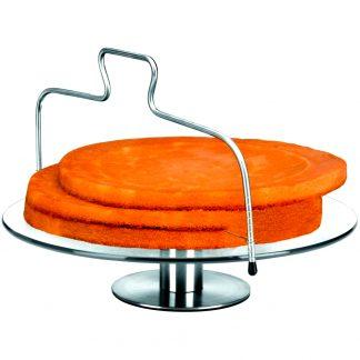 Lira talla pastissos per a rebosteria inoxidable IBILI