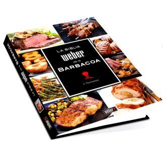"""Llibre de receptes de cuina i barbacoa """"La bíblia Weber de la barbacoa"""""""