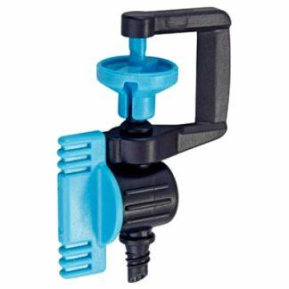 Aspersor mini per a reg de superfície 360º regulable