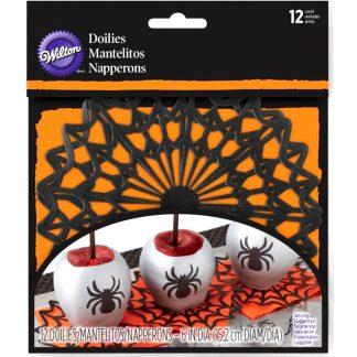 Mini tapetes de telaraña para Halloween WILTON