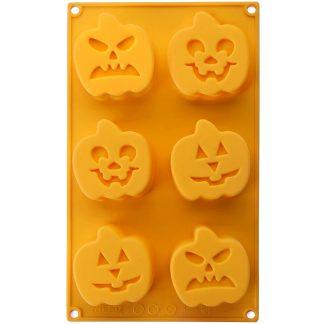 Motlle de carbassa per a Halloween, prepara postres de rebosteria, galetes de Halloween, cupcakes i molt més