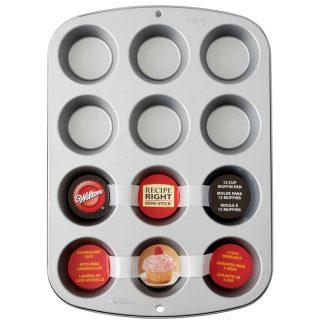Motlle de rebosteria per a mini muffins