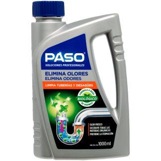 Limpiador desembozador biológico PASO tuberías y olores