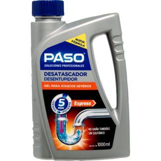 Limpiador desembozador PASO tuberías y olores