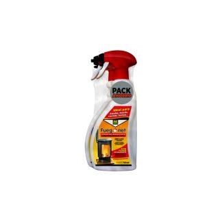 Limpiador de estufas pack 2 unidades; 2x 750 ML