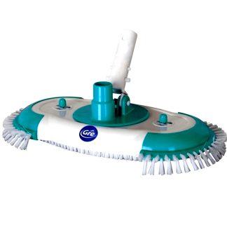 Netejafons ovalat manual rotatiu de Gre per a la neteja i el manteniment de piscines