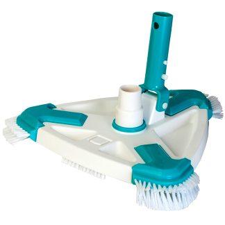 Netejafons triangular manual rotatiu de Gre per a la neteja i el manteniment de piscines