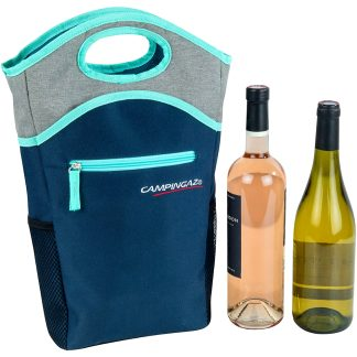 Nevera flexible porta-botellas Campingaz para agua y vino a la playa y la piscina