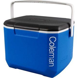 Nevera rígida platja i càmping Coleman Black & Blue 16 QL de 15 litres per a pícnic