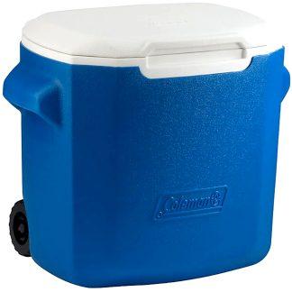 Nevera rígida playa y camping Coleman Black & Blue 28 QL de 26,5 litros para picnic