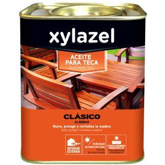 Aceite para teca clásico para interior y exterior XYLAZEL