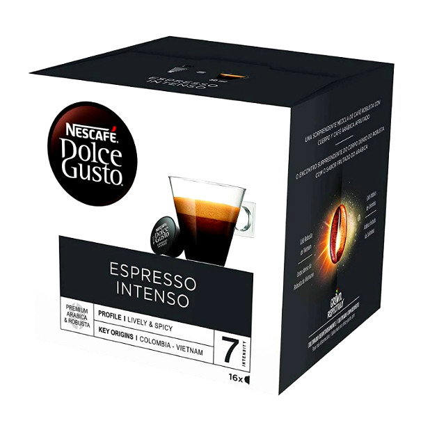 Pack 16 càpsules Dolce Gusto Expresso Intenso