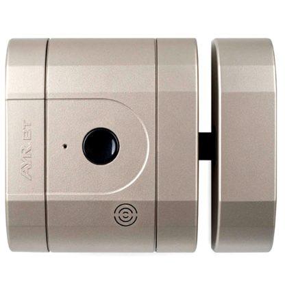 Pany electrònic de seguretat invisible int-LOCK PRO de AYR, amb alarma i app gratuita amb wifi i bluetooth, níquel mat