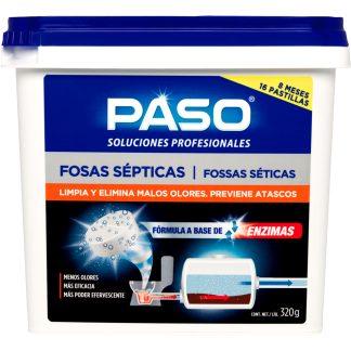 Pastilles per a fosses sèptiques PASO