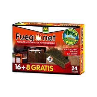 Pastilles d'encesa de foc ecològiques, 24 unitats