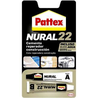 Cemento adhesivo profesional para materiales húmedos y bajo del agua Pattex Nural 22