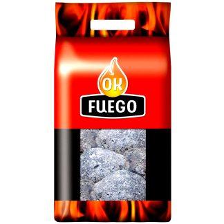 Piedra lava negra para barbacoa de gas que absorbe el calor y lo distribuye por la parrilla y superficie de cocción OKFUEGO