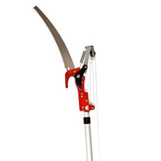 Perxa tisora podadora extensible 2x2 metres per a tallar branques altes i manteniment de l'hort, el pati, la terrassa i el jardí, podar