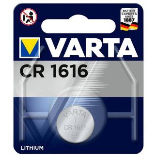 Pila de botón de litio VARTA 3V CR1616