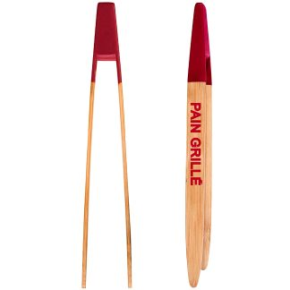 Pinces de bambú per a cuina perfectes per a torrades i torradora EASY MAKE