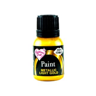 Pintura comestible Rainbow Dust oro