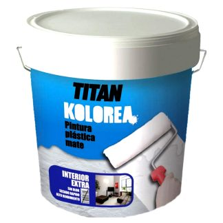 Pintura plástica mate paredes y techos Kolorea Titan