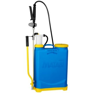 Polvoritzador motxilla Super Agro Matabi amb llança de llautó i regulador de pressió, per polvoritzar i regar, jardí