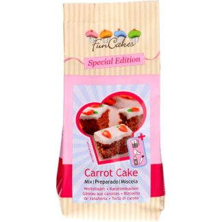 Preparado para bizcocho, pastel y cupcakes de zanahoria FUNCAKES Carrot Cake