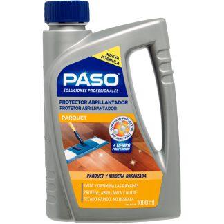 Protector abrillantador de madera y parquet PASO