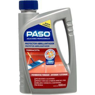 Protector abrillantador de suelos porosos y terracota PASO