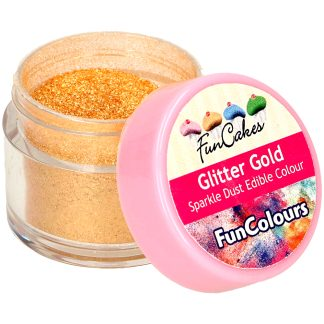 Purpurina comestible funcakes