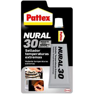 Masilla selladora adhesiva para temperaturas extremas Pattex Nural 30