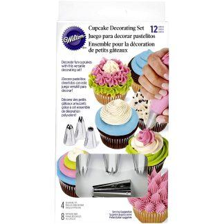 Pack decoración cupcakes Wilton