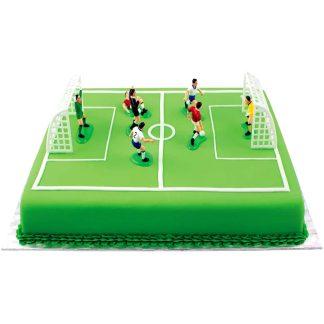 Set de decoració de rebosteria jugadors de futbol PME