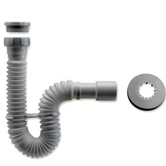 Sifón extensible válvula lavabo fregadero Plastisan