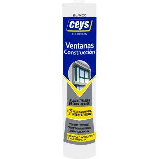 Silicona CEYS para cristales, ventanas y construcción