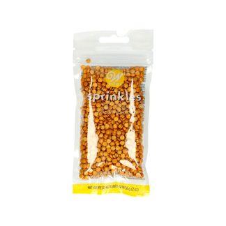 Sprinkles o confettis comestibes dorado