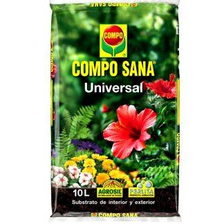 Substrat universal per a jardí i jardineria compo sana, plantes i flors interior i exterior