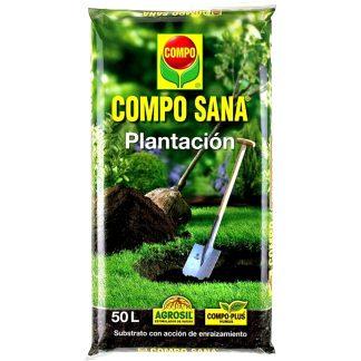 Sustrato compo sana especial para plantación de árboles, plantas y flores en huerto y jardín