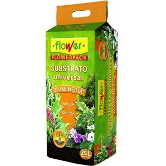 Substrat blumenerde de flower per a plantes i flors de jardí i test, jardineria